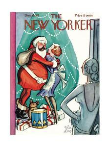 The New Yorker Cover - December 19, 1931 by Peter Arno