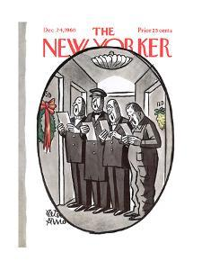 The New Yorker Cover - December 24, 1960 by Peter Arno