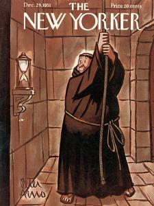 The New Yorker Cover - December 29, 1951 by Peter Arno