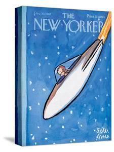 The New Yorker Cover - December 30, 1967 by Peter Arno