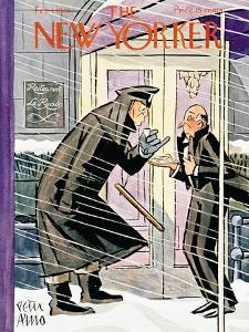 The New Yorker Cover - February 1, 1941 by Peter Arno