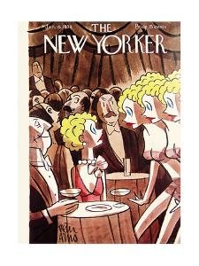 The New Yorker Cover - January 15, 1938 by Peter Arno
