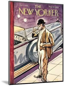 The New Yorker Cover - January 17, 1931 by Peter Arno