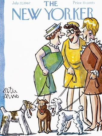 The New Yorker Cover - July 22, 1967
