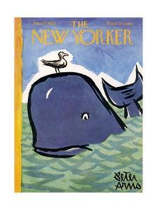 The New Yorker Cover - June 23, 1962 by Peter Arno