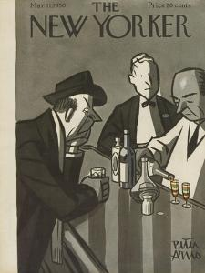 The New Yorker Cover - March 11, 1950 by Peter Arno