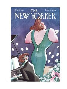 The New Yorker Cover - March 3, 1928 by Peter Arno