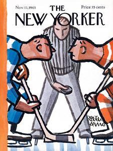 The New Yorker Cover - November 13, 1965 by Peter Arno