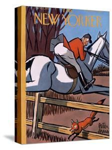 The New Yorker Cover - November 17, 1951 by Peter Arno