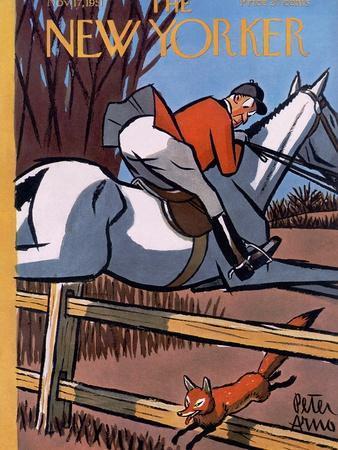 The New Yorker Cover - November 17, 1951