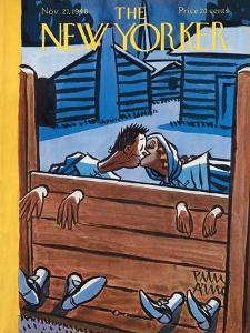 The New Yorker Cover - November 27, 1948 by Peter Arno