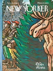 The New Yorker Cover - October 24, 1964 by Peter Arno