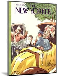 The New Yorker Cover - September 15, 1928 by Peter Arno