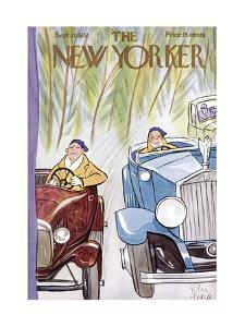 The New Yorker Cover - September 17, 1932 by Peter Arno