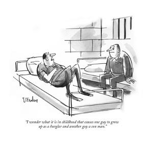 """Your Honor, I object to the tactics of Lattimore, Finchley, Wilburn & Hat?"" - New Yorker Cartoon by Peter Arno"