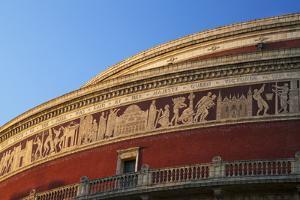Exterior of Royal Albert Hall, Kensington, London, England, United Kingdom, Europe by Peter Barritt