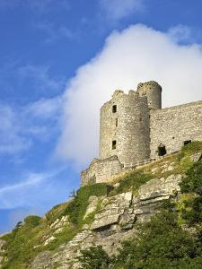 Harlech Castle in Summer Sunshine, UNESCO World Heritage Site, Gwynedd, Wales, UK, Europe by Peter Barritt