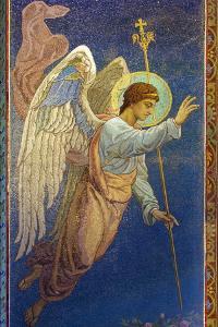 Interior Mosaics, Church of the Saviour by Peter Barritt