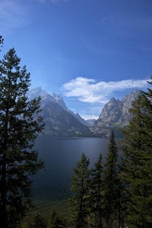 Jenny Lake, Grand Teton National Park, Wyoming, United States of America, North America