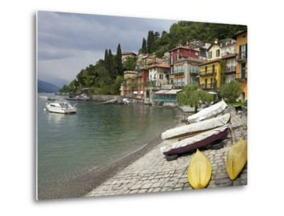 Lakeside View of the Medieval Village of Varenna, Lake Como, Lombardy, Italian Lakes, Italy, Europe
