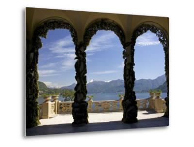 Loggia and Gardens of Villa del Balbianello on Punta di Lavedo, Lenno, Lake Como, Italy