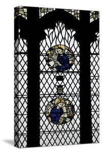 Monks in Stained Glass by Peter Barritt