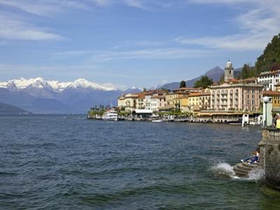 Spring Sunshine in Bellagio, Lake Como, Lombardy, Italian Lakes, Italy, Europe by Peter Barritt