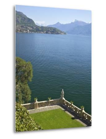 View from Terrace of 18th Century Villa del Balbianello, Lenno, Lake Como, Italian Lakes, Italy