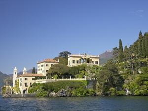 Villa del Balbianello on Punta di Lavedo in Spring Sunshine, Lake Como, Italian Lakes, Italy by Peter Barritt