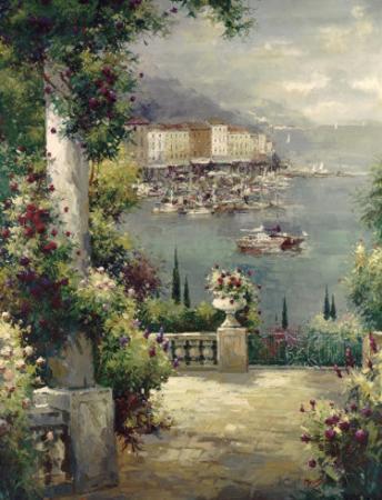 Capri Vista I by Peter Bell