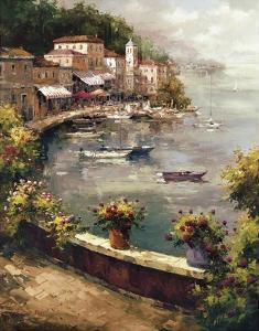 Italian Harbor by Peter Bell