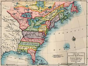'Map of the British Dominions of North America', 1772, (1904) by Peter Bell
