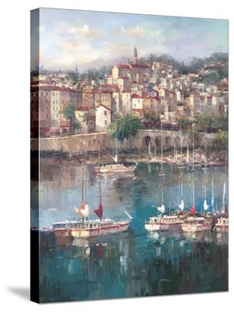 Mediterranean Harbor ll by Peter Bell