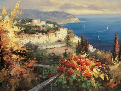 Mediterranean Seascape by Peter Bell