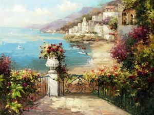 Overlooking the Harbor by Peter Bell