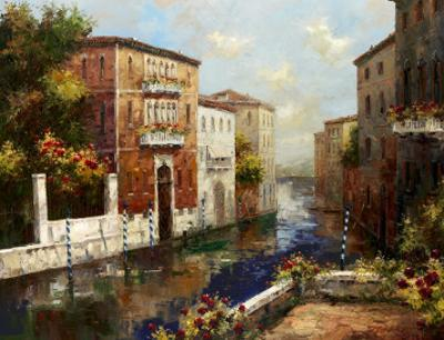 Sleepy Canal by Peter Bell