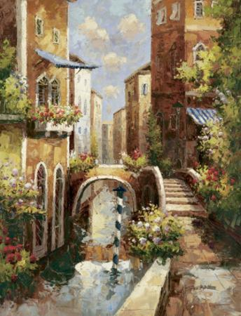 Venice Canal II by Peter Bell
