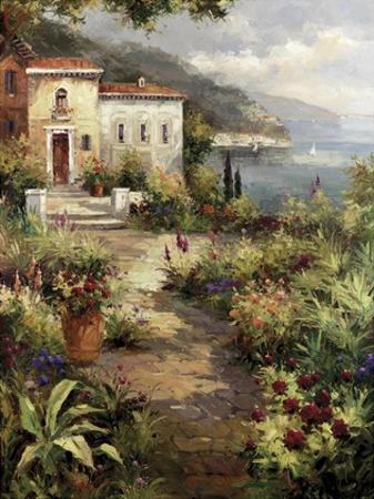 Villa's Garden Path by Peter Bell