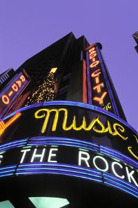 Christmas, Radio City Music Hall, Manhattan, New York, USA by Peter Bennett