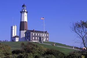 Montauk Lighthouse, Montauk Point, Long Island, New York, USA by Peter Bennett