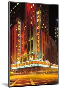 Radio City Music Hall, Manhattan, New York, USA by Peter Bennett