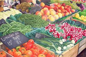 Market Stall, 1999 by Peter Breeden