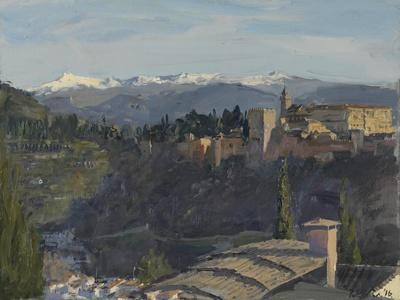 The Alhambra and Sierra Nevada, Granada, 2016