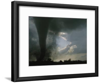 An F3 Category Tornado Swirls Across a South Dakota Prairie