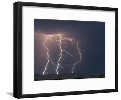 Cloud to Ground Lightning Strikes