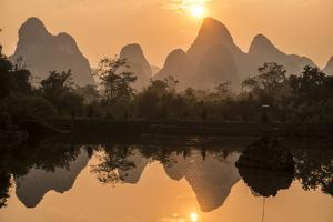 Karst Formations in the Dragon River Valley by Peter Carsten