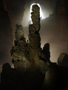 The Hand of Dog Stalagmite in Hang Son Doong Cave by Peter Carsten