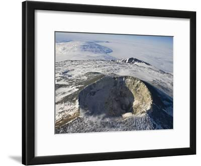 The Main Crater of Mount Erebus