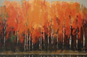 Birch Shoreline by Peter Colbert