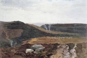 Yorkshire Fells, C.1840 by Peter De Wint